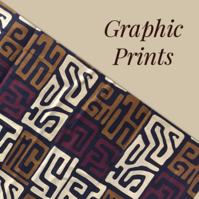 Graphic Prints - Yara African Fabrics, LLC